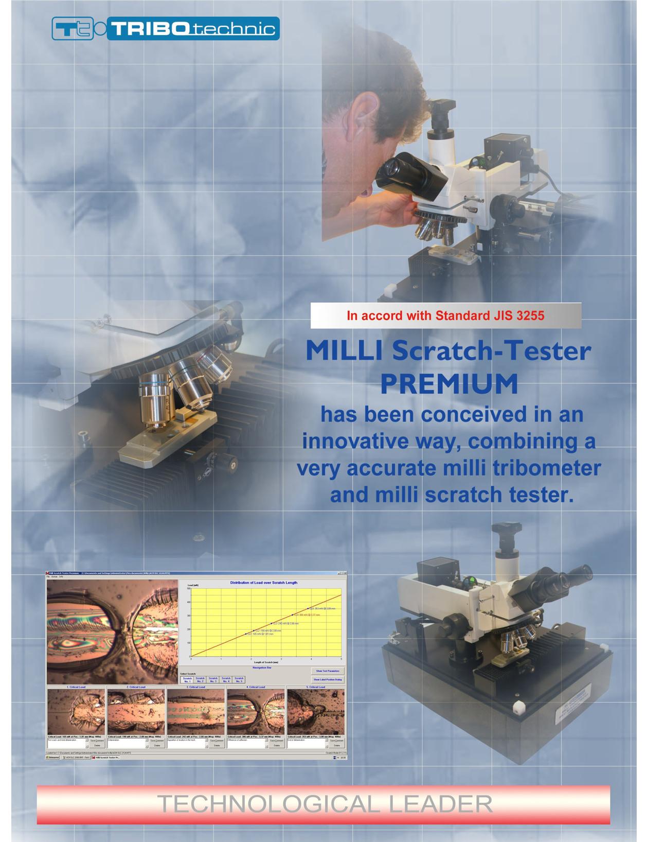 Milli-Scratch-tester premium